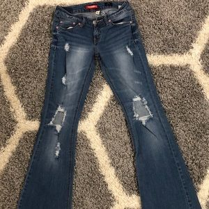 UNIONBAY Jeans Ripped Flare